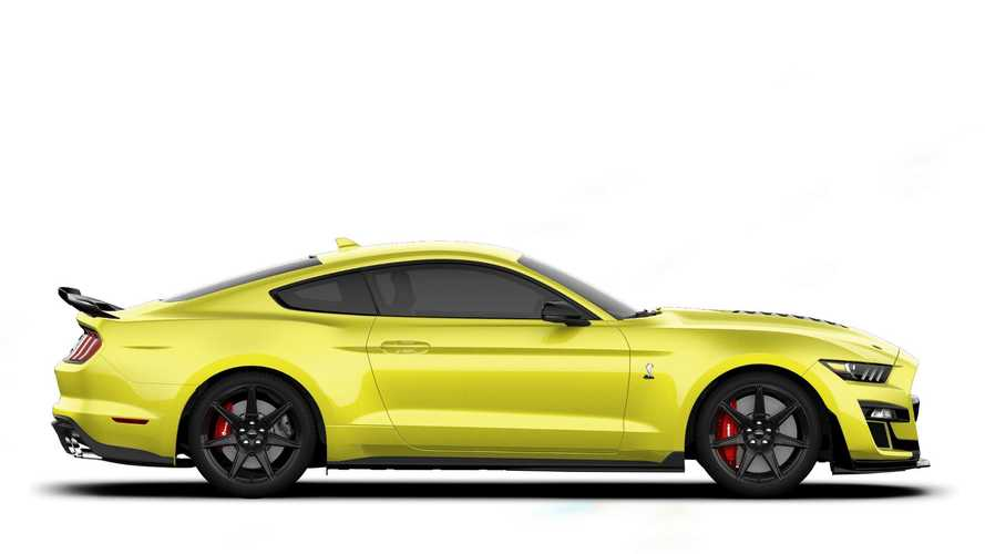 2021 Ford Mustang Shelby GT500 Grabber Yellow