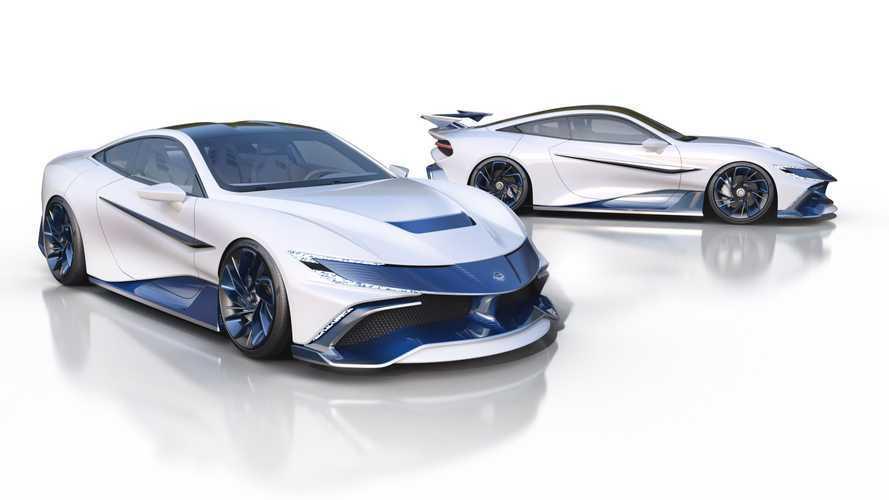 """L'hyper-coupé Naran si """"trasforma"""" da auto di lusso a bolide GT3 in 20 minuti"""