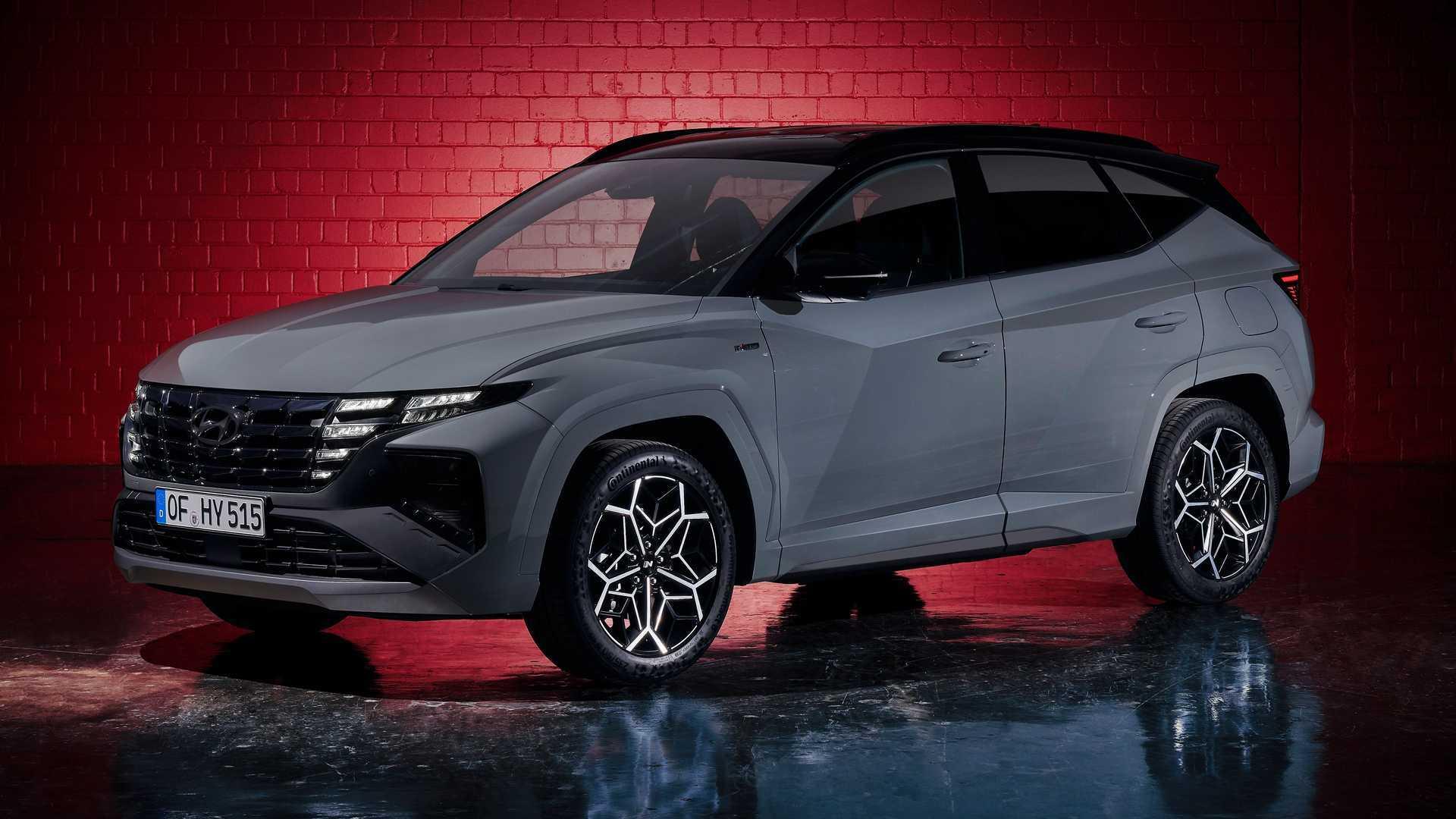 Hyundai Tucson N Line 2021 года представит спортивный облик и модернизированную подвеску