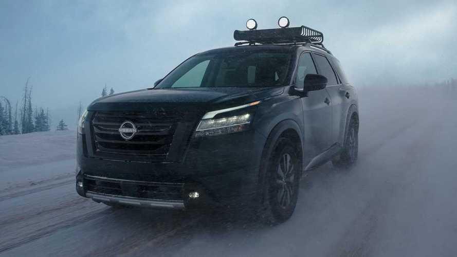 Новый Nissan Pathfinder (2021)