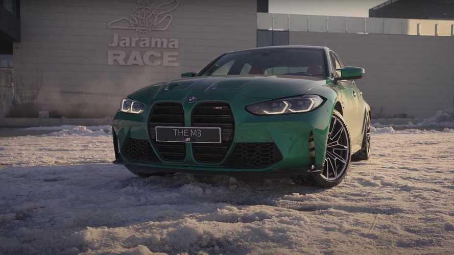 Un BMW M3, el Jarama, nieve y de los Milagros: ¡imposible de mejorar!