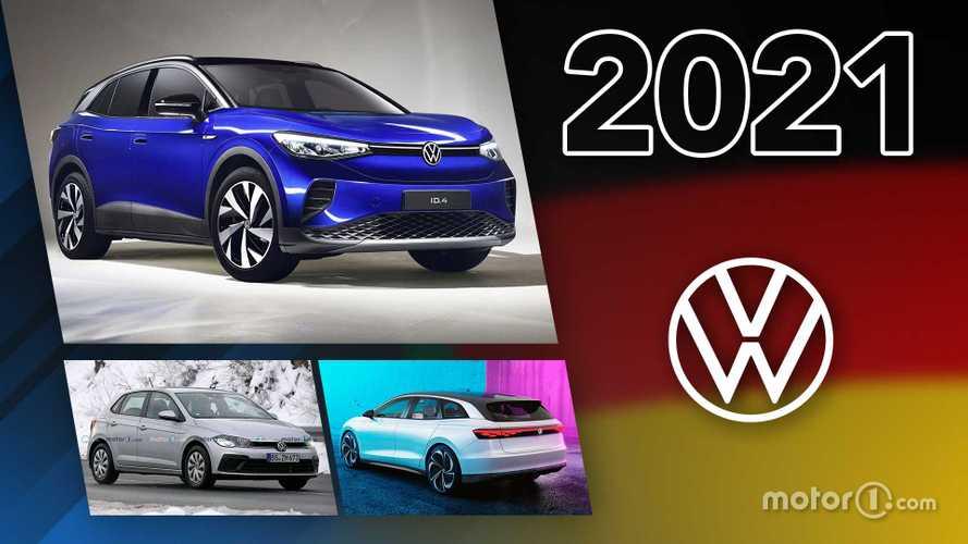 Volkswagen: Die Neuheiten 2021 im Überblick