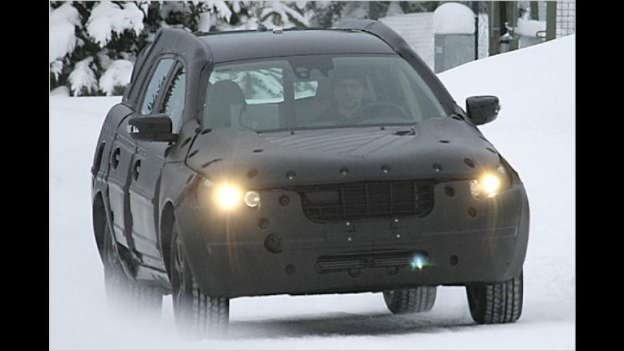 Volvo XC60: Erste Erlkönigbilder des kommenden Sport-SUV