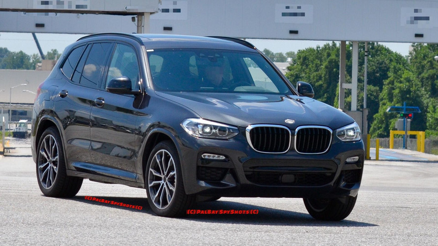 2018 BMW X3 Spied With M Sport Pack In Real World