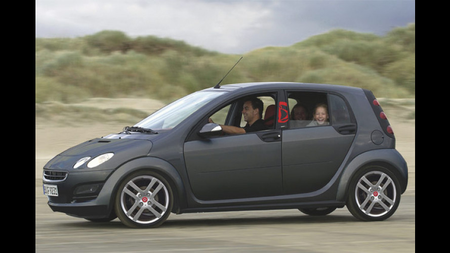 Smart Forfour Bellybutton: Pampers-Bomber für die IAA
