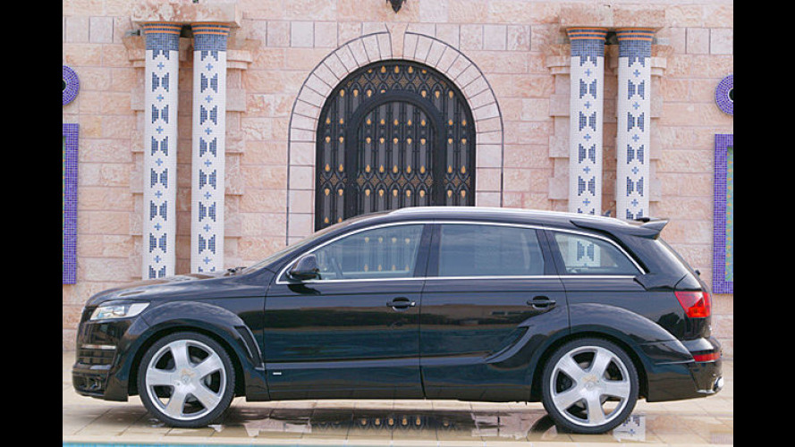 500 Kompressor-Pferde: Audi Q7 Wide Body von JE Design