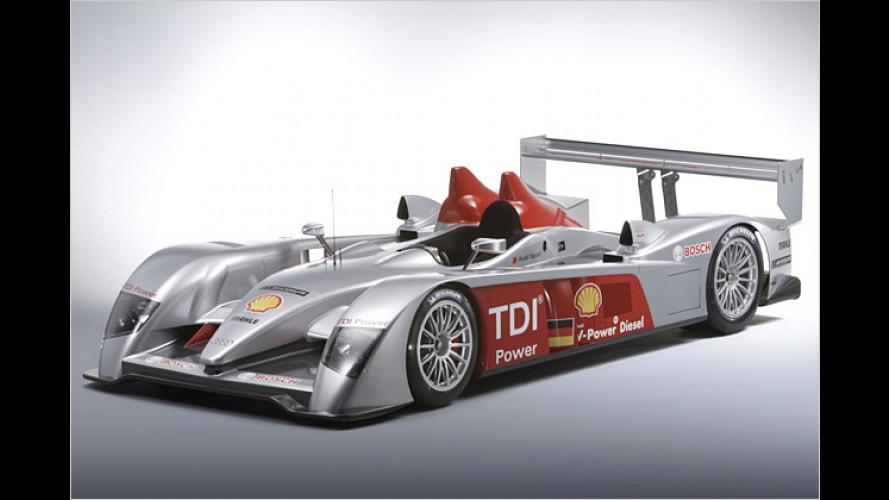 Audi: Zwölfzylinder-Diesel soll in Le Mans den Sieg einfahren