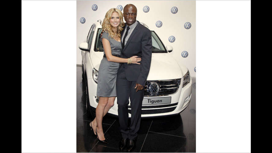 Ein Herz und eine Seele: Heidi Klum und Seal werben für VW