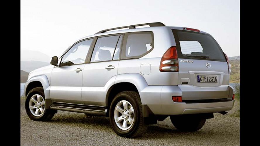 Toyota Land Cruiser Travel: Verwöhnen mit Extras