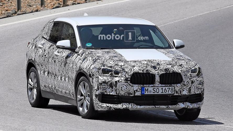 2018 BMW X2 seri üretim casus fotoğraflar