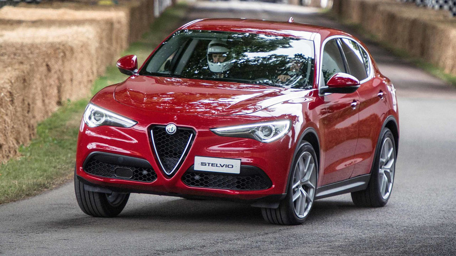 Alfa Romeo Stelvio SUV Priced From £33,990