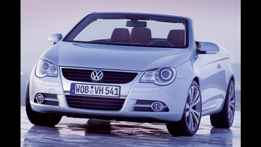 Volkswagen eröffnet mit dem Eos die Open-Air-Saison