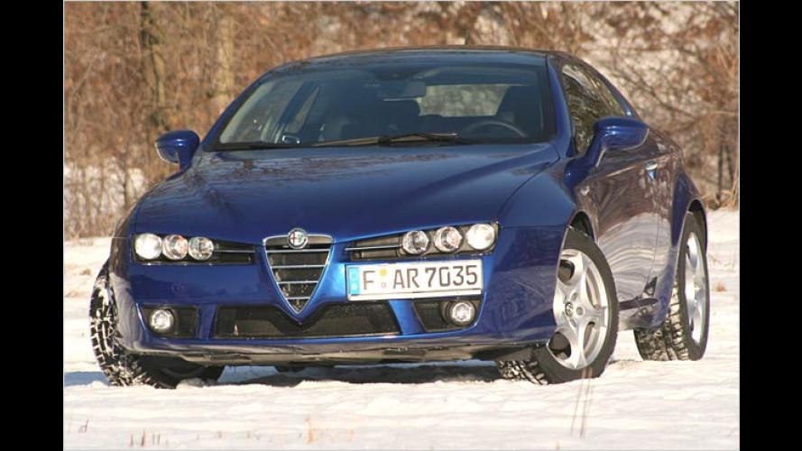 Alfa Brera: Designercoupé mit schicken Metallklamotten