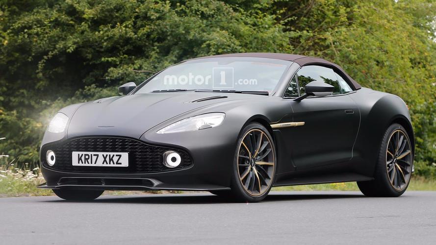 Aston Martin Vanquish Zagato Volante objektiflere yakalandı
