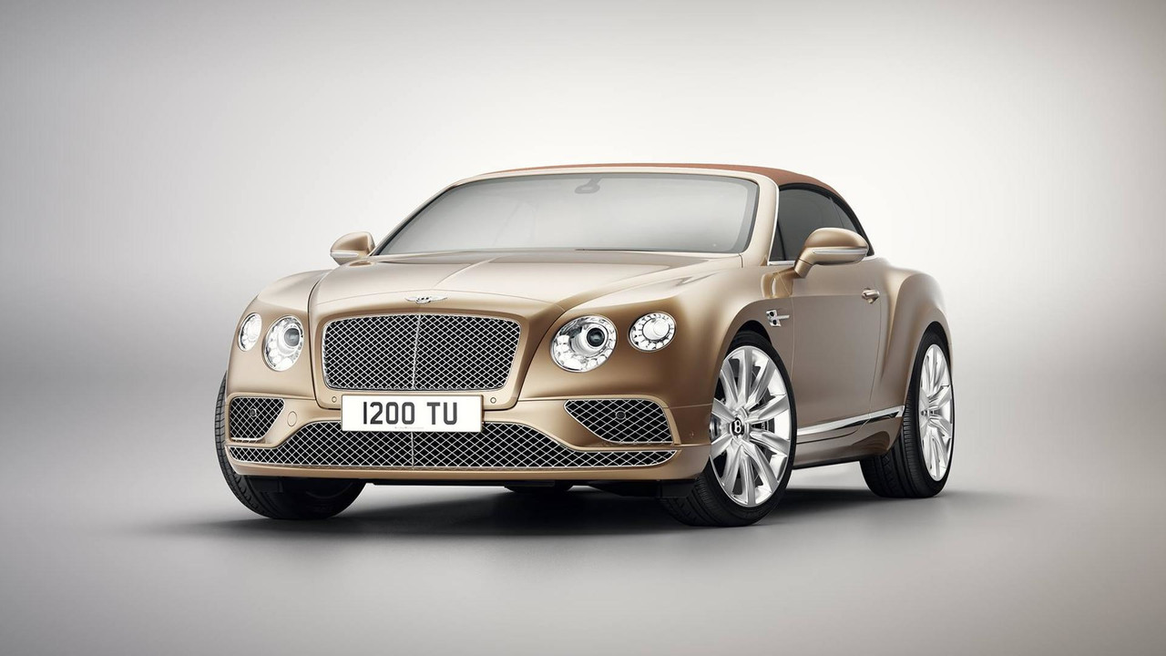 2017 Bentley Continental GT Timeless Series