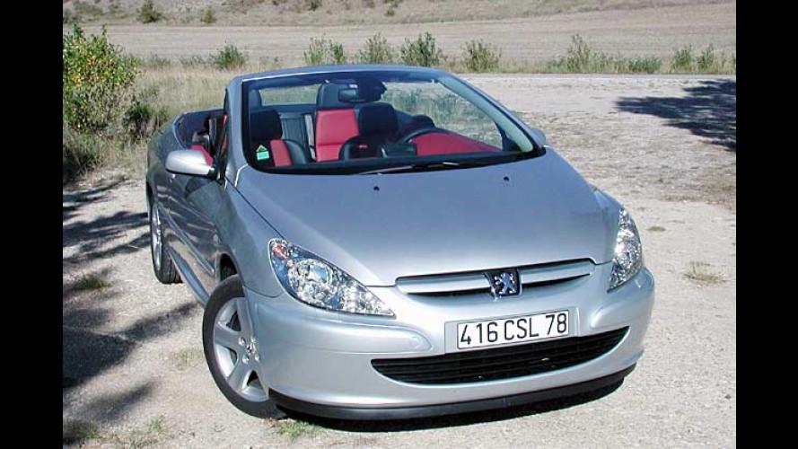 Peugeot 307 CC: Neues Einstiegsmodell für das Cabriolet