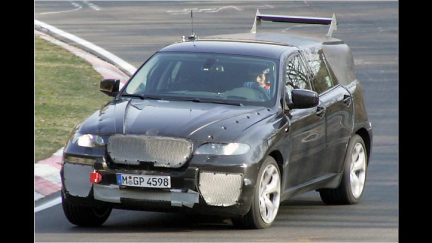 Erlkönig vor der Linse: BMW X6 in der Erprobungsphase