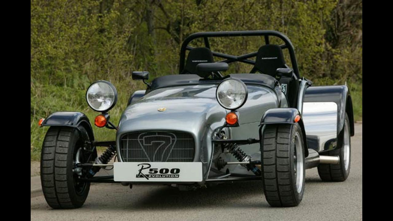 Sportwagen-Ikonen aus den 70er-Jahren - Caterham Super Seven