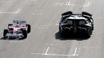 Toyota F1 and Batmobile