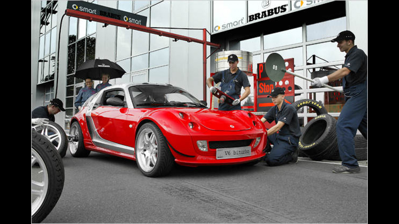 2003: Smart Roadster mit Biturbo