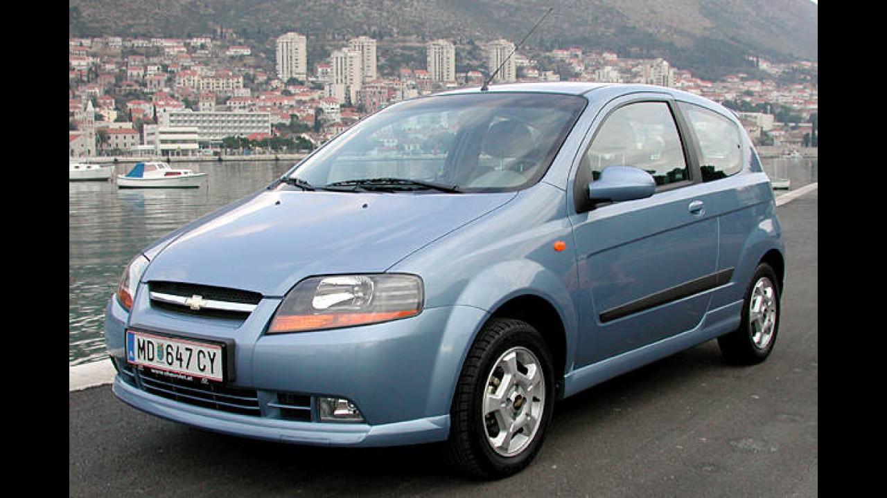Chevrolet Kalos 1.2 S 3-türig