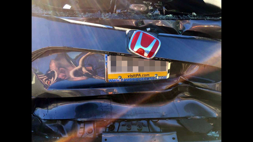 2017 Honda Civic Type R Baleset