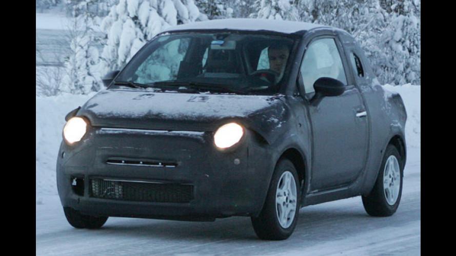 Erlkönig erwischt: Wird das die Stark-Version des Fiat 500?