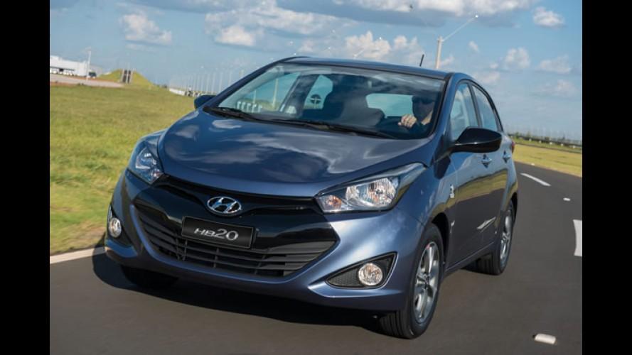 Hyundai HB20 1.6 ganha GPS e TV digital nas versões de topo - veja preços