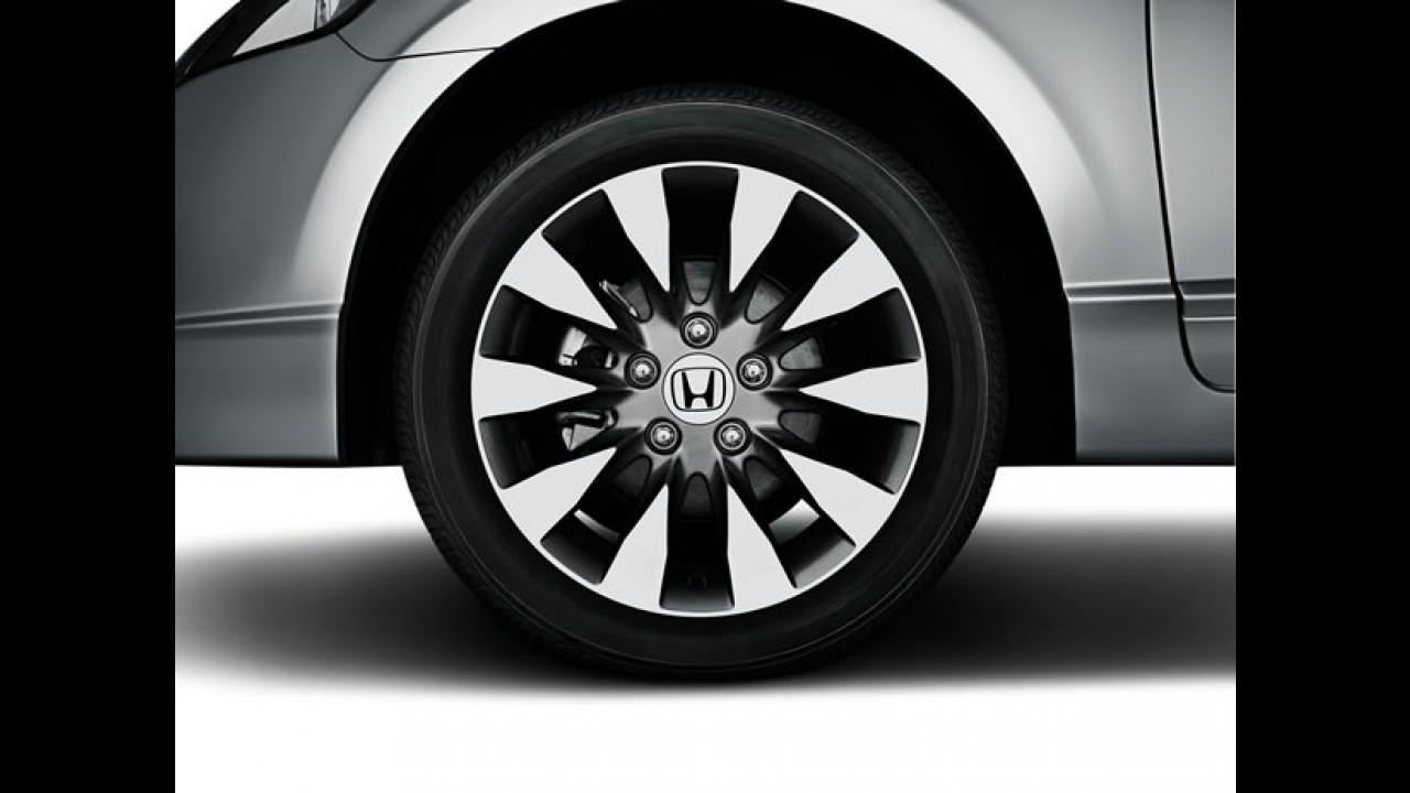 Nova versão: Honda lança o New Civic LXL 2010 com preço inicial de R$ 66.405