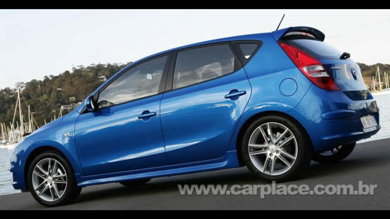 Onde estão? Hyundai atrasa chegada do hatch i30 no Brasil devido à crise
