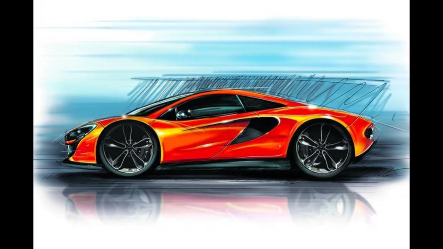 """McLaren P13 - modelo """"de entrada"""" tem primeiro esboço divulgado"""