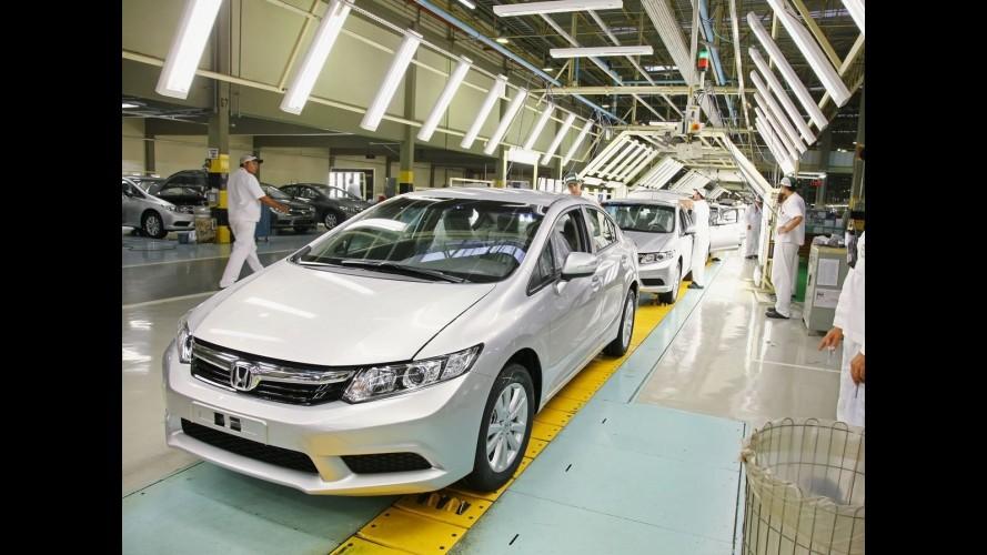 Fábrica da Honda em Sumaré completa 15 anos