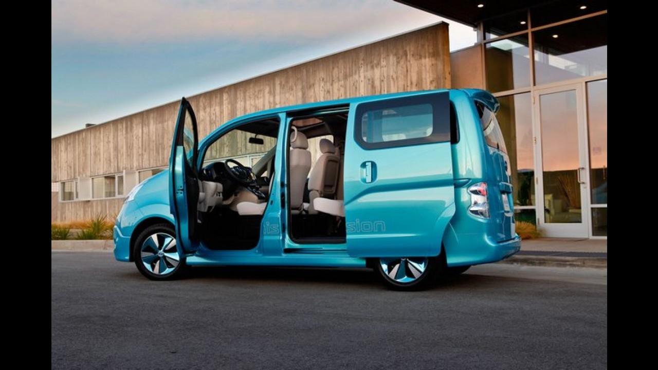 Salão de Detroit: Nissan e-NV200 Concept é revelada