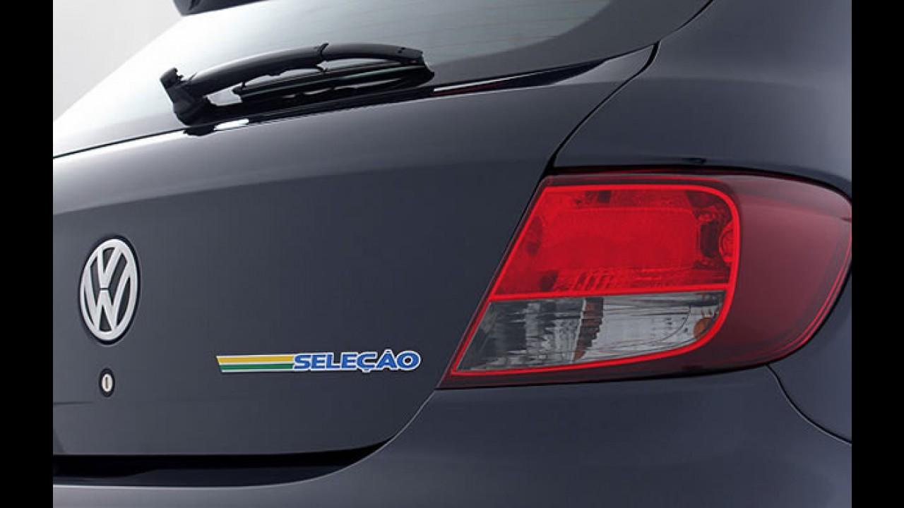 Volkswagen lança o Gol Seleção 2011 - Edição especial chega por R$ 33.790