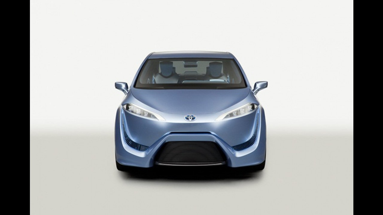 Toyota lançará sedã movido a hidrogênio em 2015