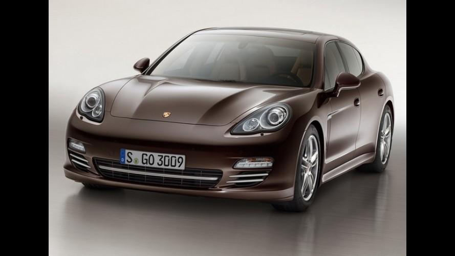 Porsche Panamera Platinum Edition chega ao Brasil em fevereiro com preços a partir de R$ 429 mil