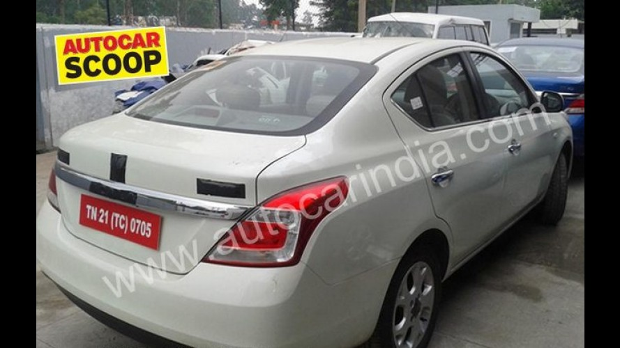 Novo Renault Scala é revelado na Índia - Novo sedã é irmão do Nissan Versa