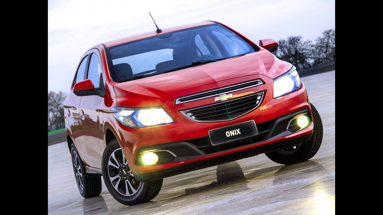 Onix foi o carro mais financiado em 2015; Chevrolet lidera em julho