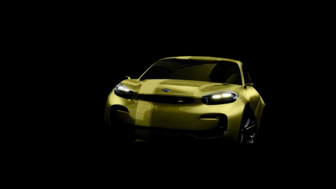 Kia Cub Concept adianta futuro cupê de quatro portas