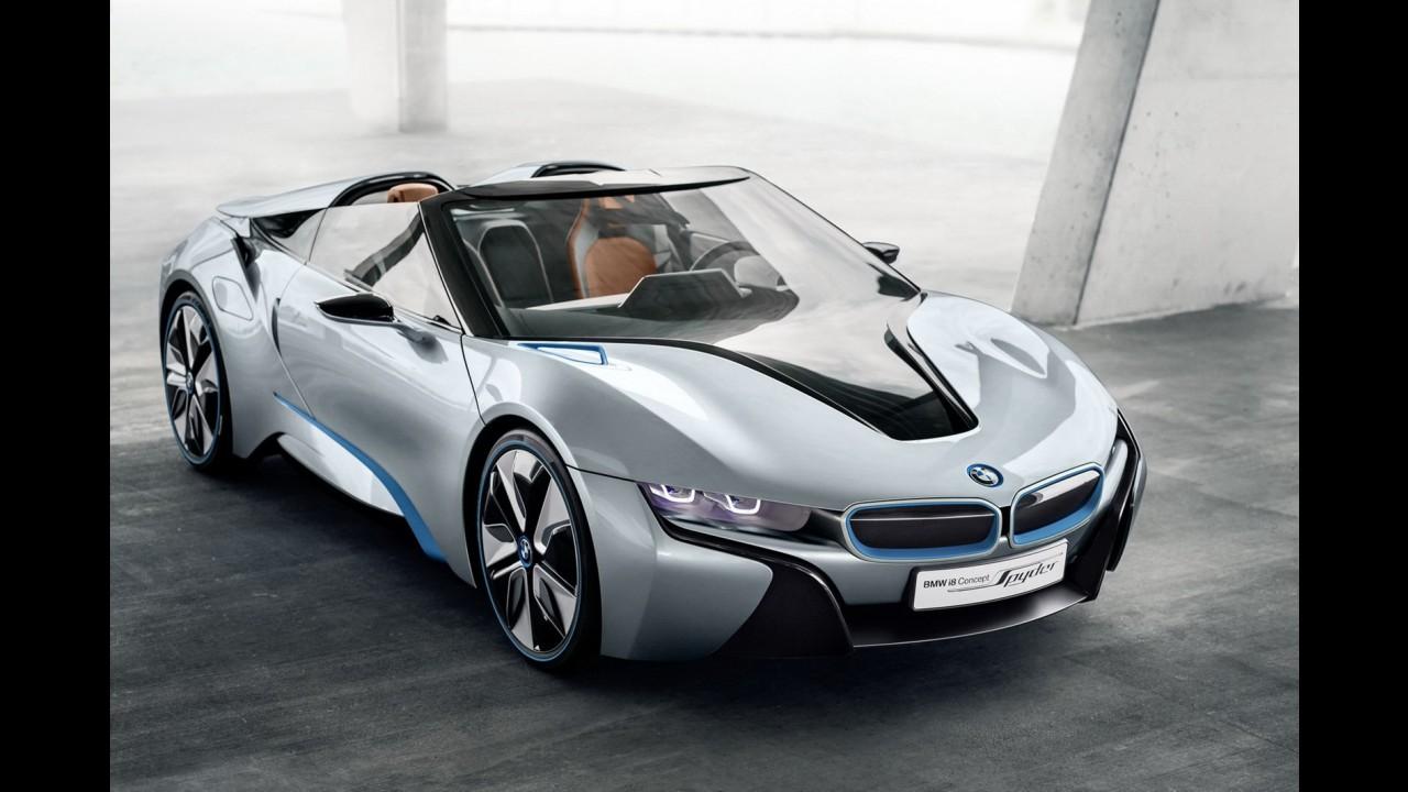 BMW i8 Spyder Concept será um dos destaques da marca no Salão de Pequim