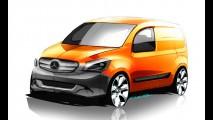 Mercedes adianta primeiros detalhes do Citan, seu novo comercial leve