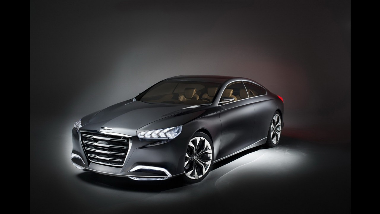 CEO da Hyundai reitera desejo de lançar sedã esportivo para brigar com Série 3