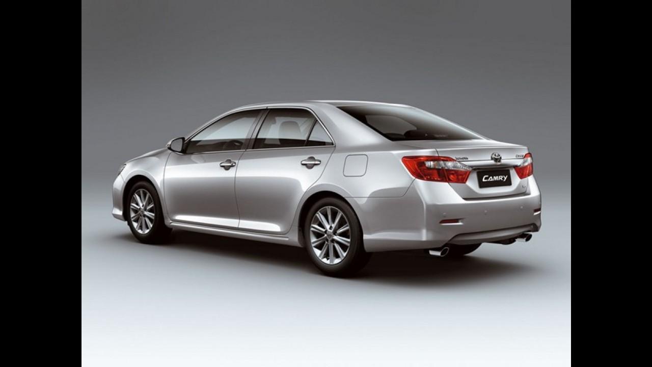 Toyota inicia a produção do Novo Camry na Rússia