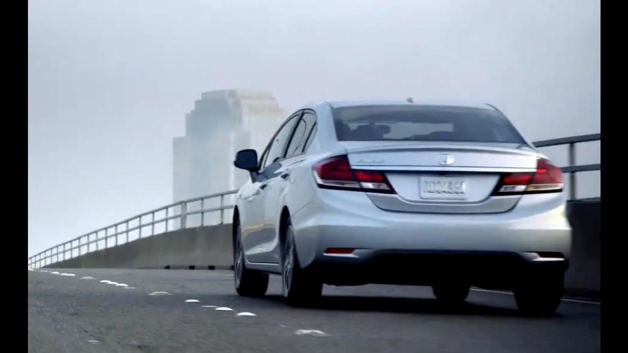 Vídeo: Comercial do Novo Honda Civic 2013 - A segunda chance