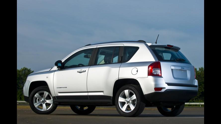 Jeep confirma reestilização para os modelos Compass e Patriot no ano que vem