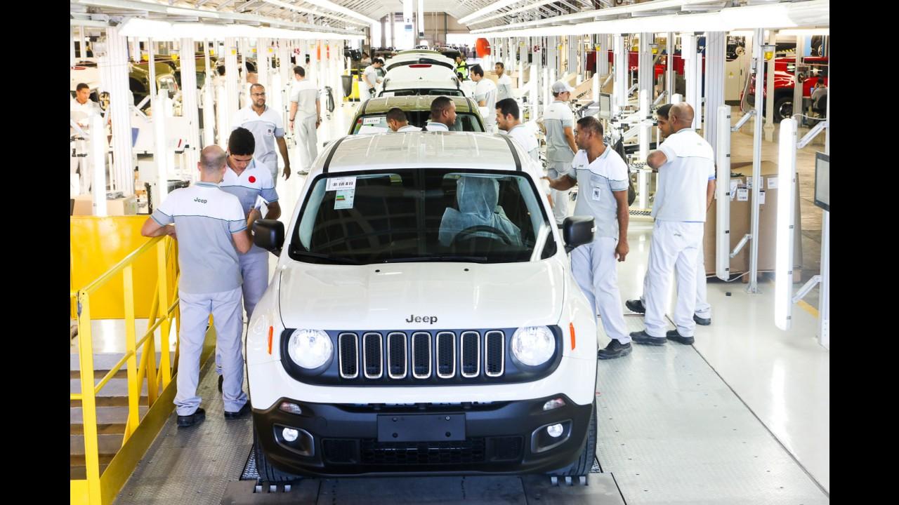 Com queda de 16,2%, Brasil fica em 7º lugar nas vendas globais do 1º trimestre
