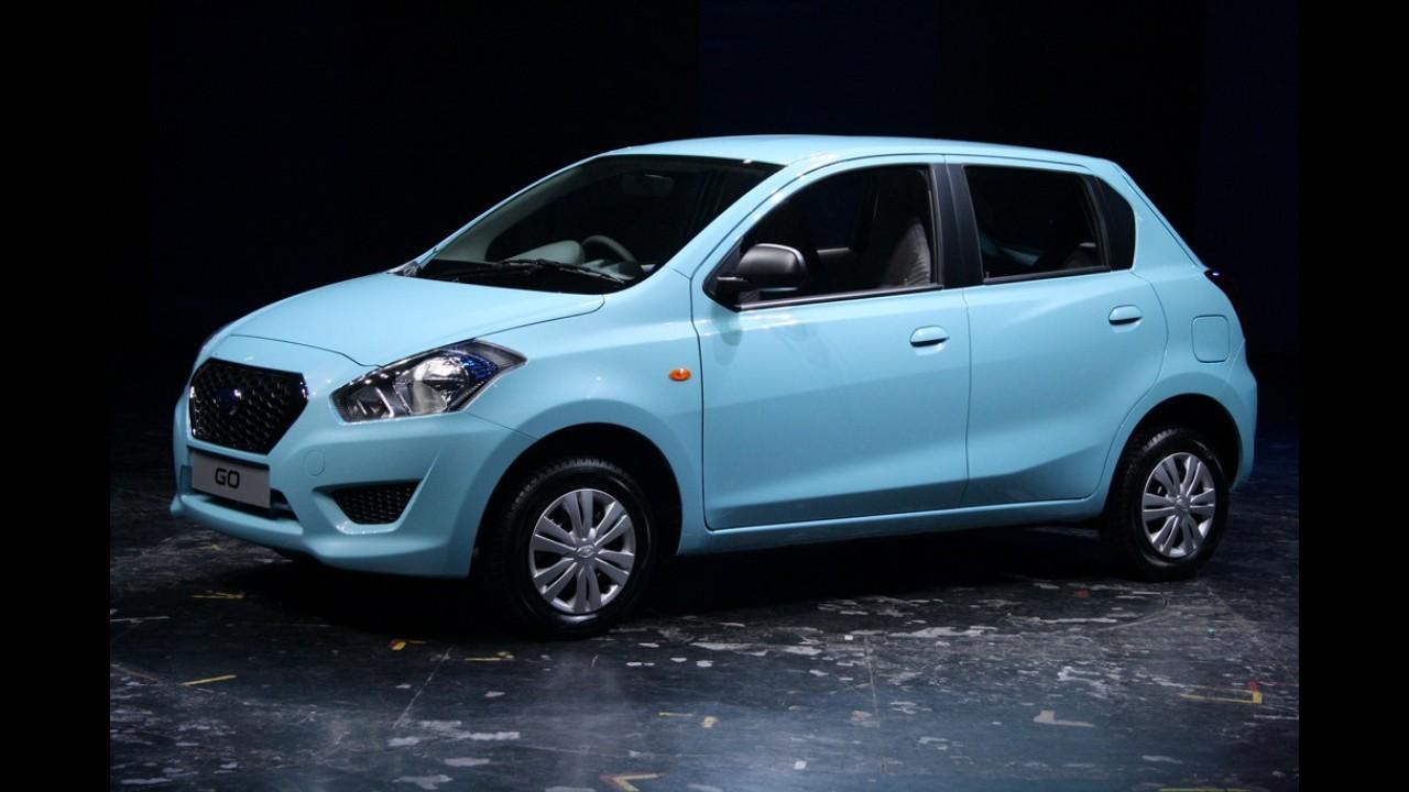 Datsun renasce com o compacto de baixo custo GO