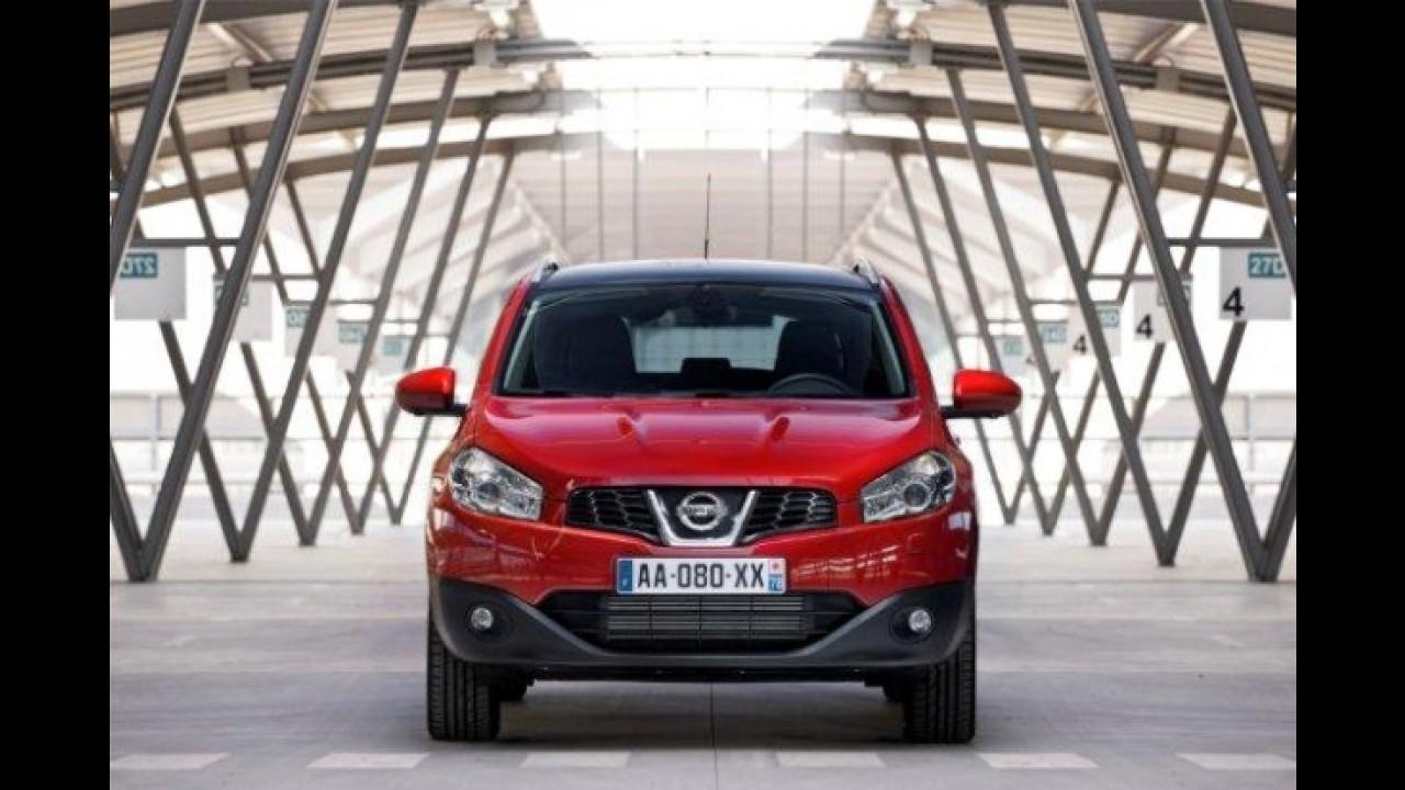 Pré-Frankfurt: Nissan Qashqai em versão mais econômica e ecológica