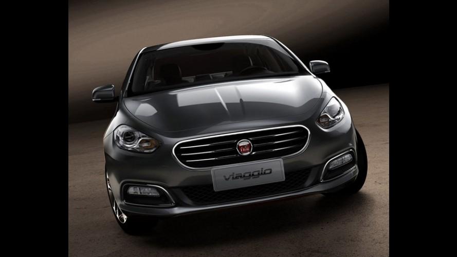 Fiat Viaggio é revelado por completo: Veja as primeiras fotos oficiais