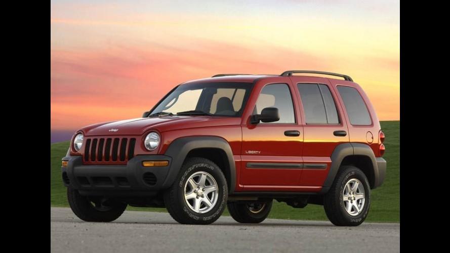 Chrysler anuncia recall de 210 mil veículos por defeito na suspensão